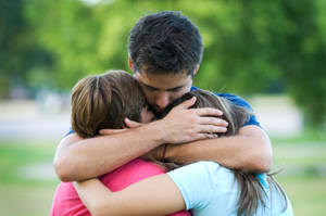 Family dealing with wrongful death