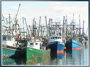 Photo of a fishing boats