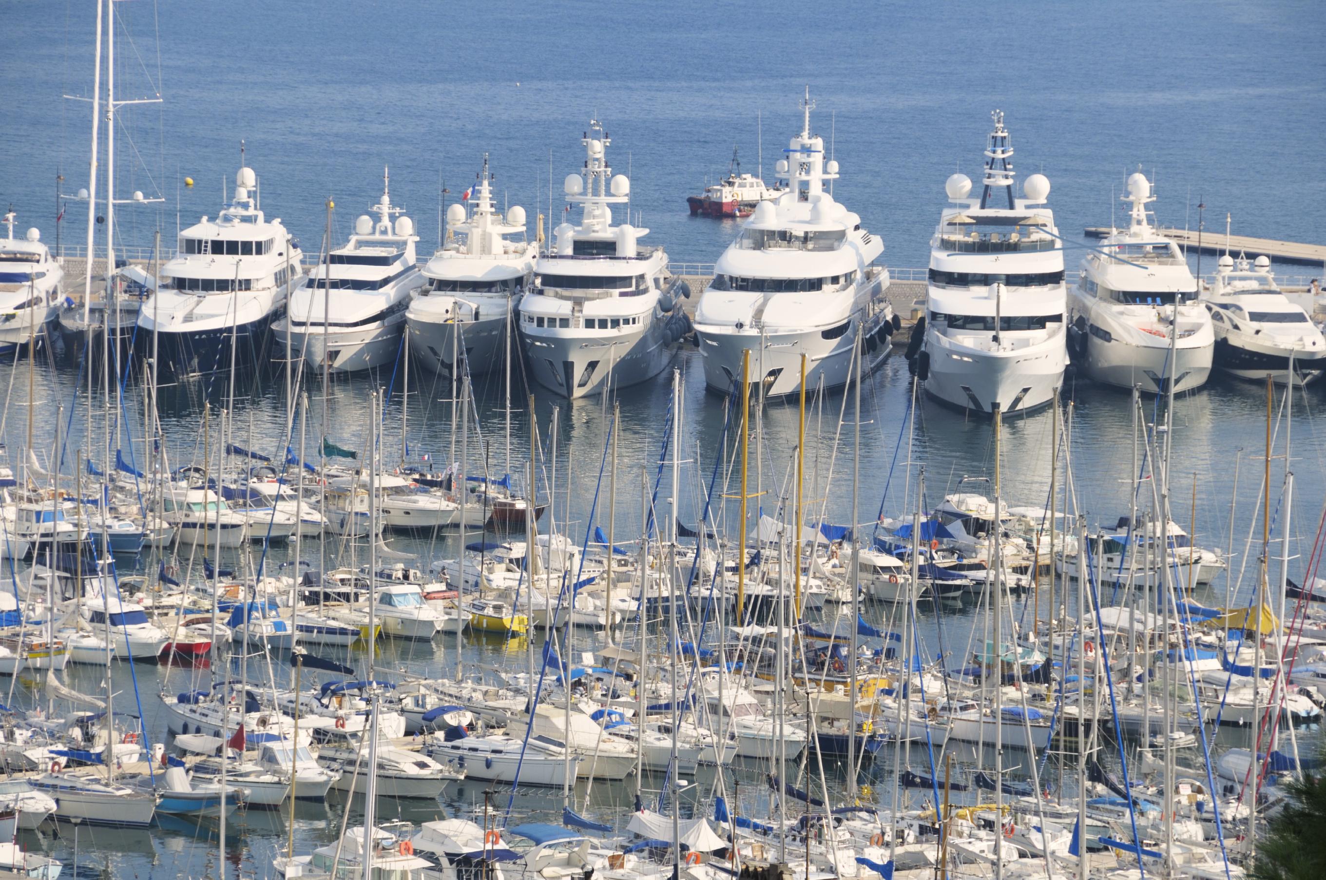 Photo of boat docks